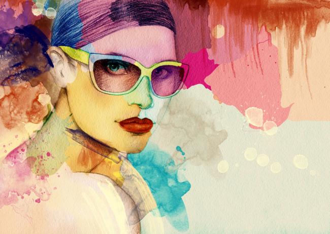 Μόδα για να νιώθετε όμορφα, χρώματα σας ταιριάζουν.