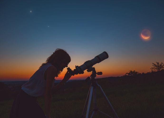 Έκλειψη Σελήνης στον Τοξότη στις 5 Ιουνίου 2020, από την Σμάρω Σωτηράκη.