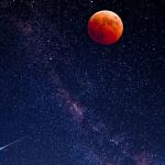 Σεληνιακή Έκλειψη στον Αιγόκερω στις 5 Ιουλίου 2020, από την Σμάρω Σωτηράκη.